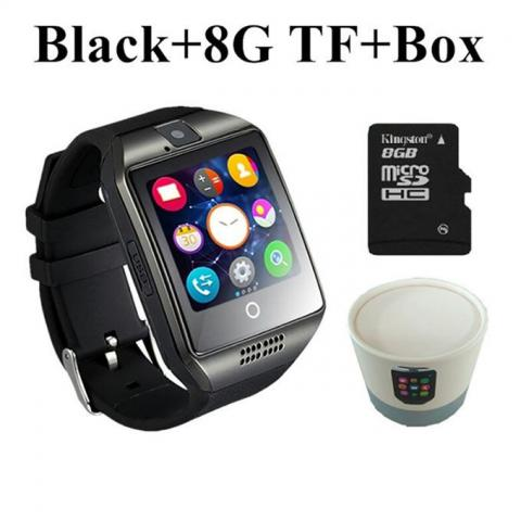 Tool Box Combo OF TB-Q18 Smart Watch For Android Phone SIM Support+8G TF Card