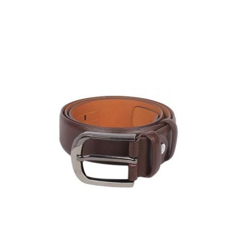Leather Gallery Chocolate Leather Belt For Boys