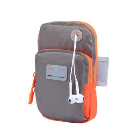 LIVA GIRL - Sport Armband Case Zippered Running Phone Arm Band Bag Pouch w/Headset Hole