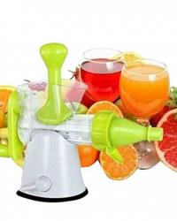 Manual Hand Juice Maker - White and Green
