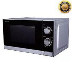 R-20A0V - Microwave Oven - 20 Liters - Black and Silver