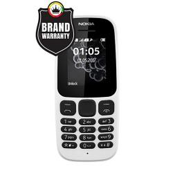 """Nokia 105 DS - Feature Phone - 1.8"""" - White"""
