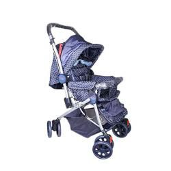 Baby's Gallery Big Size Strollers oo8a - Navy Blue
