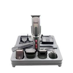 Kemei KM-680A 8 In 1 Grooming Kit – Silver