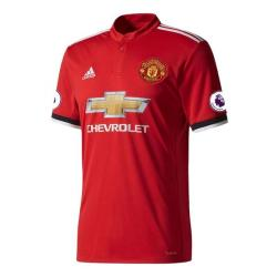 Rod Jursey Red Mesh Cotton Manchester United haif Sleeve home Jersey 2017-18 For Men