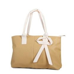 Dream Apple Stylish Handbag for Woman - Beige