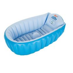 Nahian's Collection Baby Bathtub - Sky Blue and White