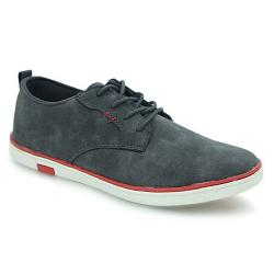 Bata North Star Gray PU Sneaker for Men