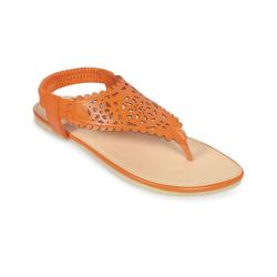 Apex Sandra Rosa Orange Leather Sandal For Women