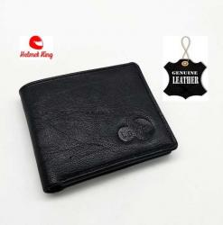 Super Quality Mens Wallet - Leather Money Bag For Men - Black
