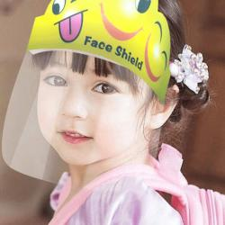 Baby Face Shield - Splash Proof Face, Eyes Protector For Kids (5pcs)