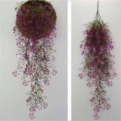 Simulation Rattan Plant Flower Decorations Fake Flower Living Room Wall Decorations Home Decor