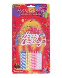 Happy Birthday Candle - Multi Color