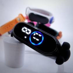 Silicon LED Sports Baby Watch