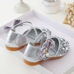 Perfect Meet Princess shoes Toddler Kids Girls Baby Fashion Princess Dance Leather Casual Single Shoes