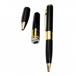 Spy Pen Camera HD 32GB Memory Card Supported - Black and Golden