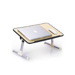 WOW buy Laptop Table with Cooling Fan - Black and White
