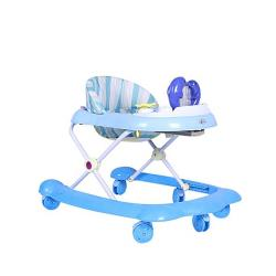 Wall Touch Dolphin Baby Walker - Blue